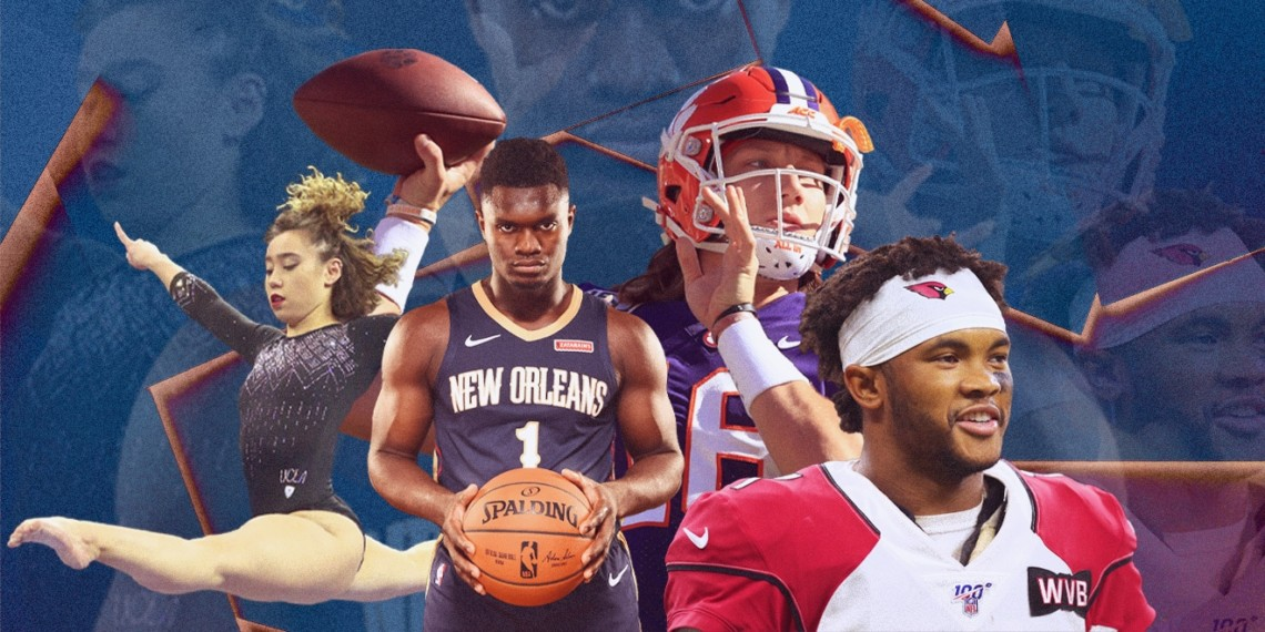 Katelyn Ohashi, Zion Williamson, Trevor Lawrence, Kyler Murray