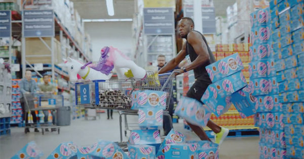 Usain Bolt's Next Impossible Goal: Finishing a Sam's Club Run in 3 Minutes