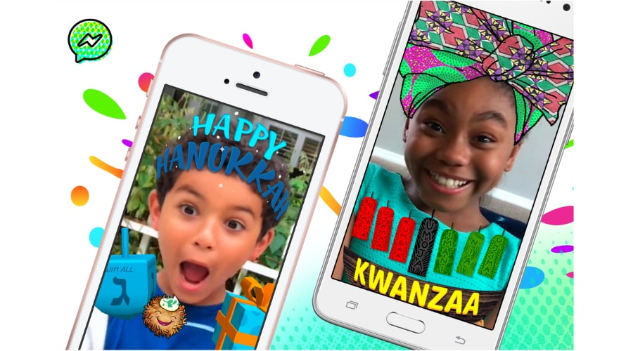 Facebook Brings Holiday Cheer to Messenger Kids