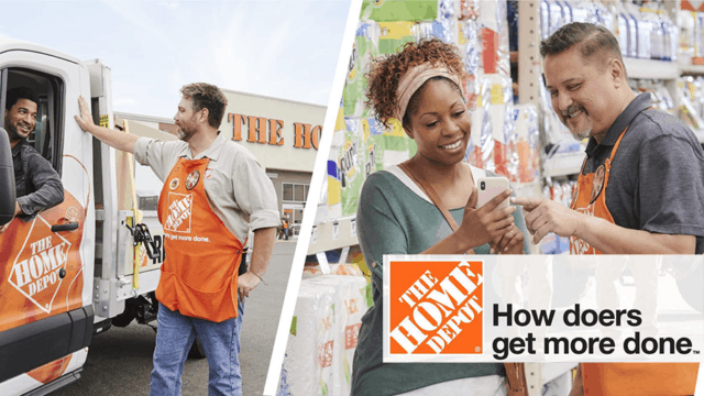 Home Depot Builds New Slogan Targeted to Doers