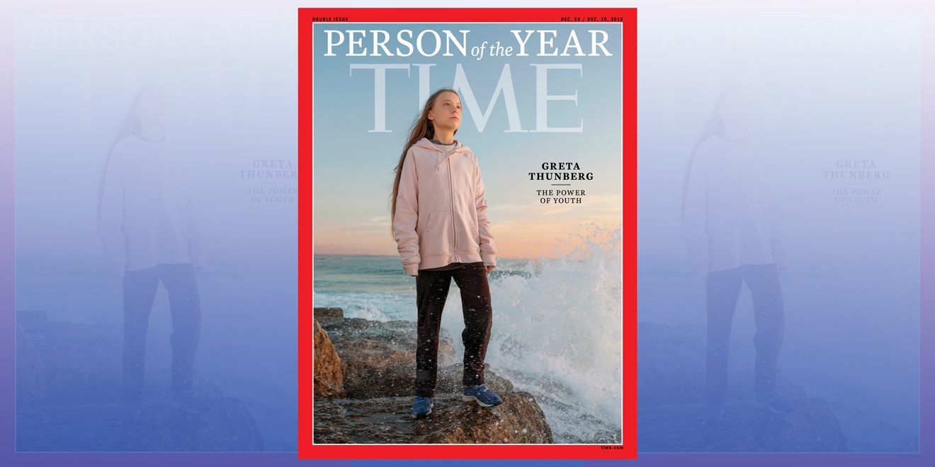Greta Thunberg, Time Person of the Year cover