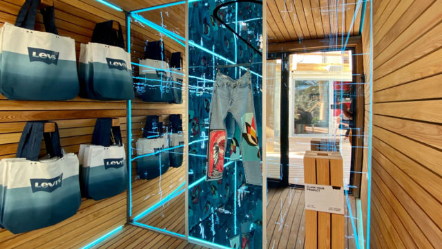 Levi's New Retail Experience Features a Tech-Fueled Merch Drop
