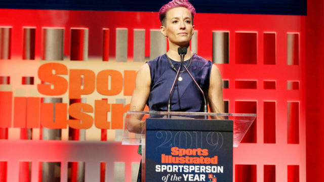 Megan Rapinoe Honored at First Sports Illustrated Event Under Authentic Brands