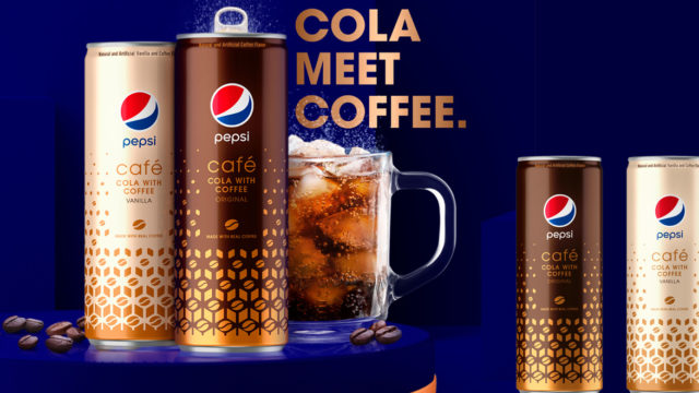 Pepsi Gets Into the Canned Iced Coffee Game With Pepsi Café