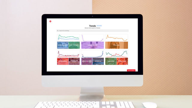 the new pinterest trends tool