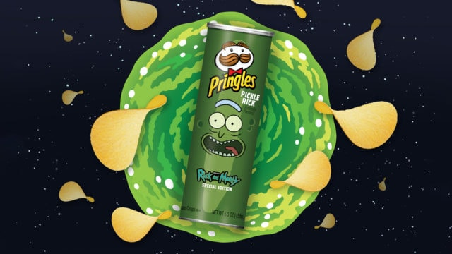Rick and Morty Will Make Their First Super Bowl Splash in Pringles Ad
