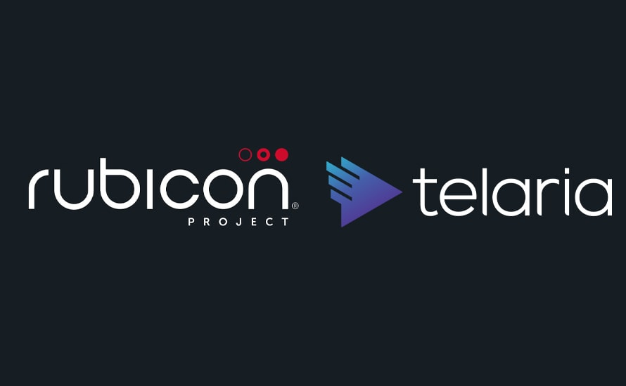 rubicon project and telaria logos