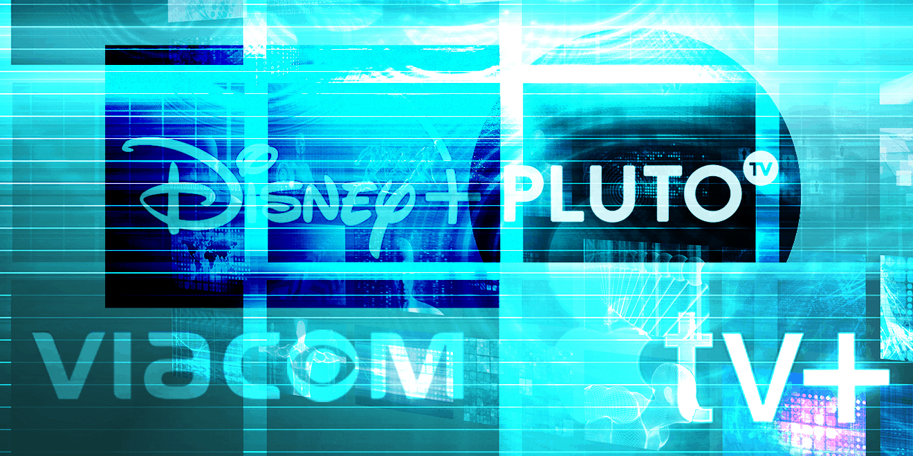 Disney+, Pluto TV, Viacom and Apple TV+