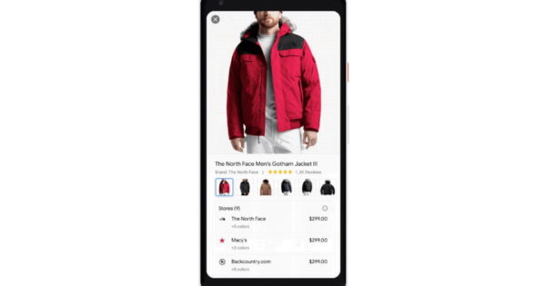 Google Begins Rolling Out New Clothing Shopping Feature on Search