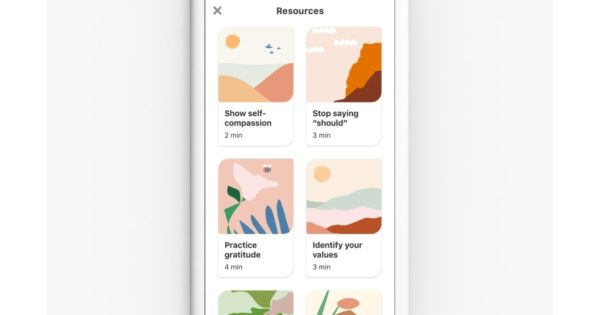 Pinterest's Emotional Well-Being Activities Debut in 9 More Countries