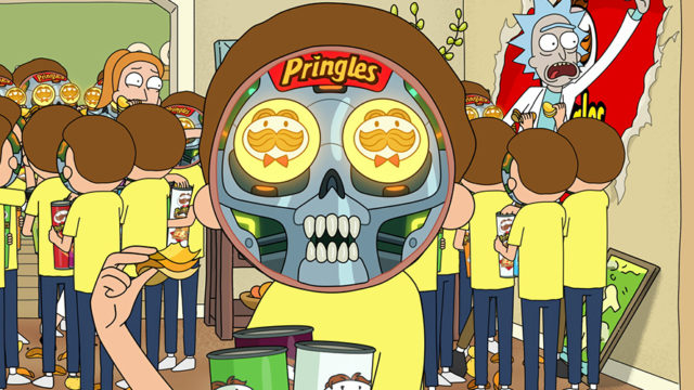 The chip brand worked with Adult Swim and the Grey Group on the 30-second spot.