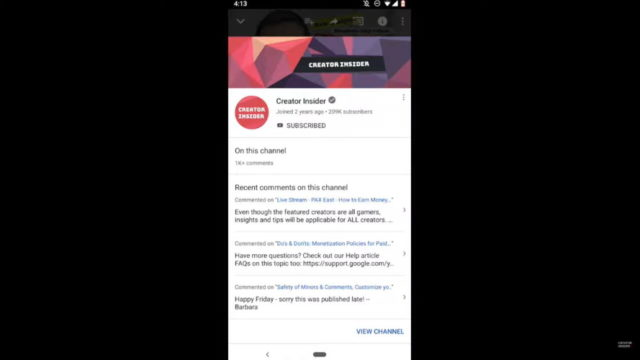 YouTube Begins Rollout of Profile Cards