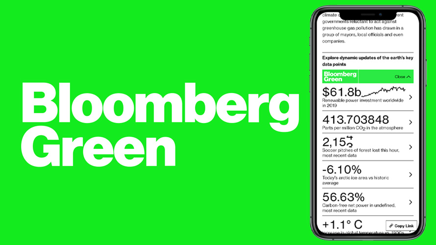 bloomberg green logo
