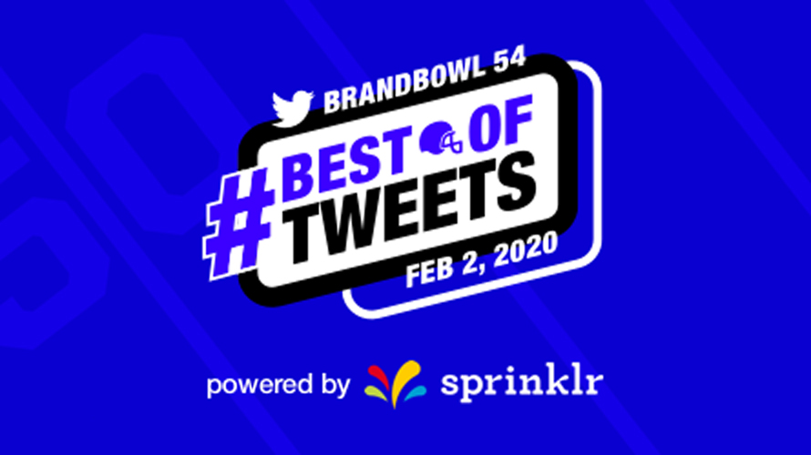 the logo for twitter's #brandbowl