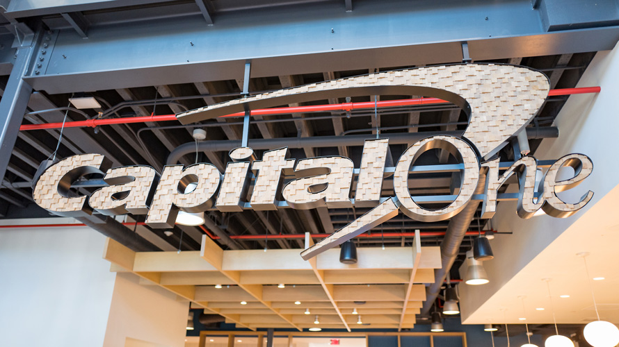 the capital one logo
