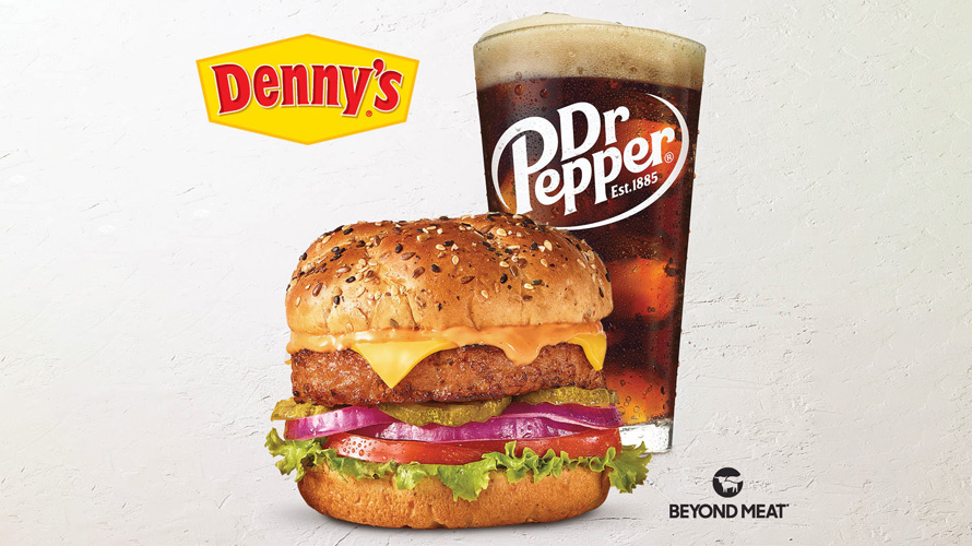 the beyond burger at Denny's
