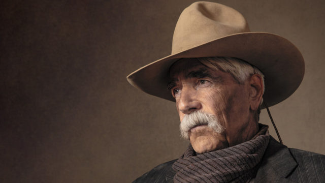sam elliott in a cowboy hat