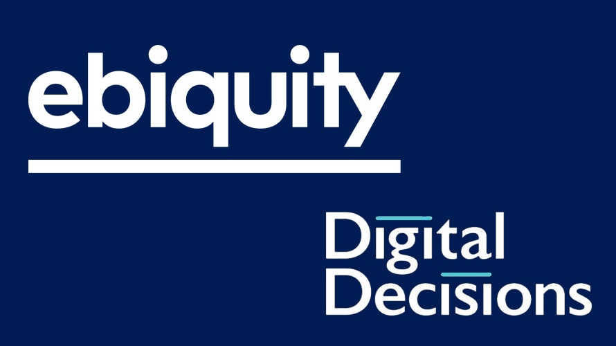 the logos of ebiquity and digital decisions