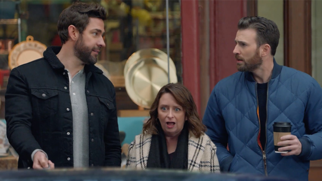 It's as If John Krasinski, Rachel Dratch and Chris Evans Never Left Boston in Hyundai's Wicked Funny Super Bowl Ad