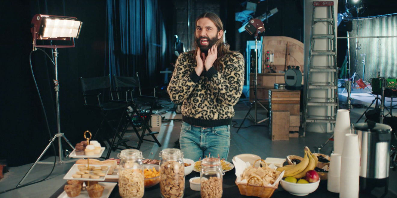 jonathan van ness looking adorable
