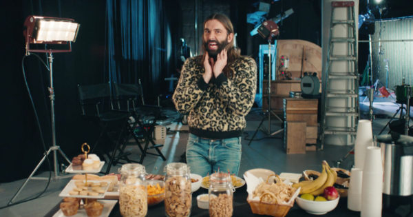 Jonathan Van Ness Freaks Out About Pretzels in Pop-Tarts' Super Bowl Ad