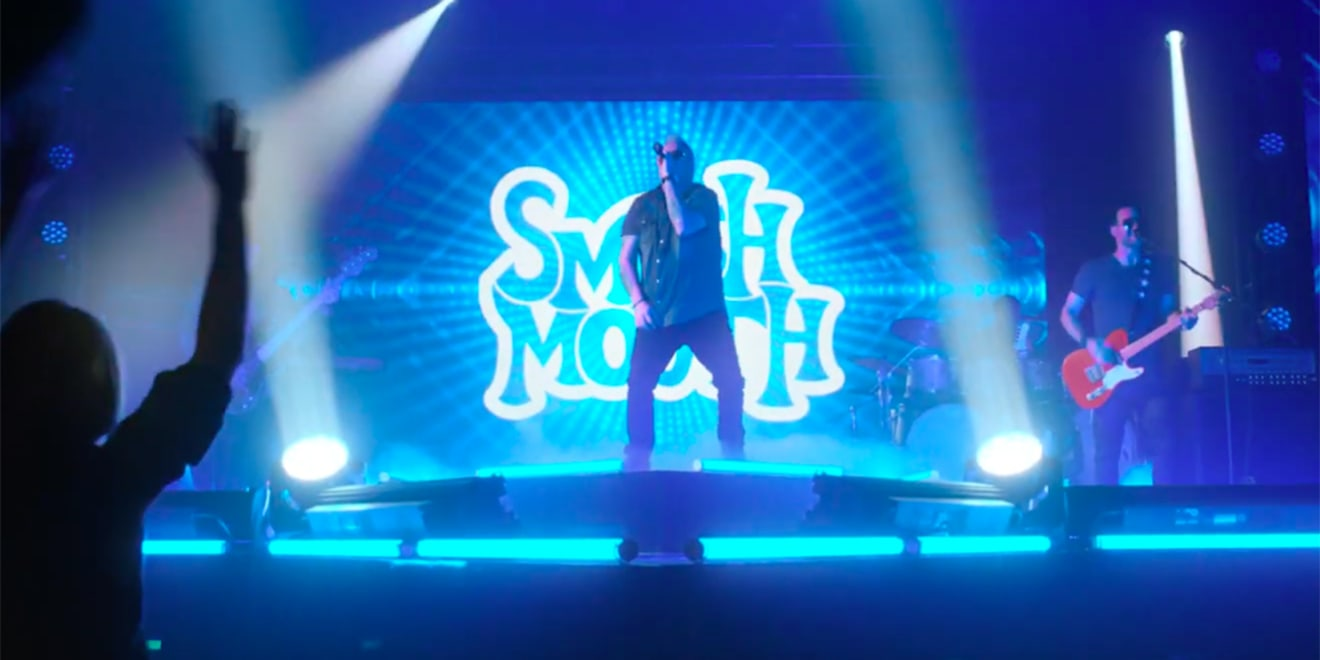 smash mouth performing onstage