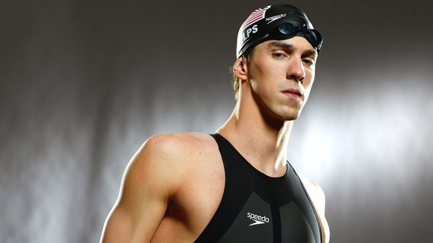 Michael Phelps wearing Speedo apparel