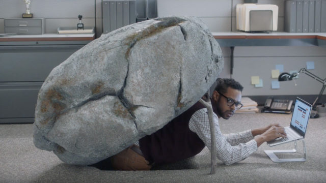 People might be living (and working) under a rock if they haven't heard of Reese's Take 5 in new Super Bowl ad.