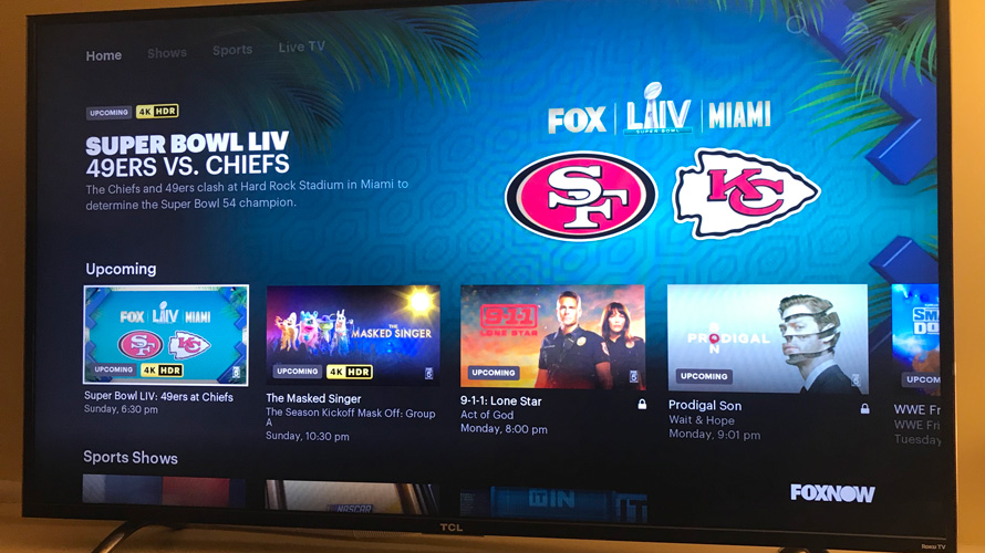 Roku pulls Fox apps ahead of Super Bowl