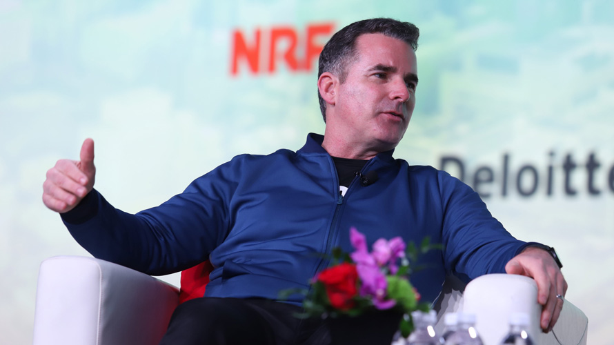 Kevin Plank at NRF
