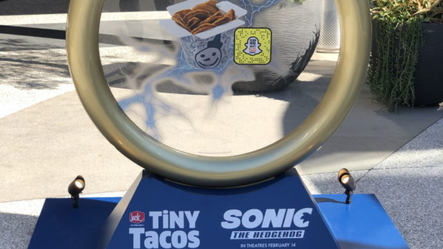 Jack in the Box Backs Sonic the Hedgehog With a Snapchat AR Face Lens