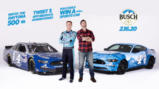 Busch Light Is Giving Away Mustangs to Fast-Tweeting Fans During the Daytona 500