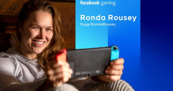 Ronda Rousey Is Now in Facebook Gaming's Corner
