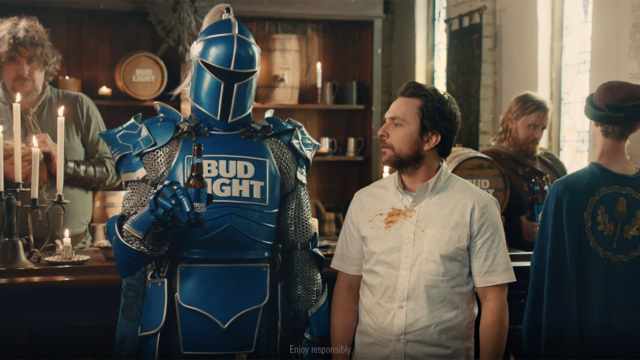Tide Brings Back the Bud Knight for the Super Bowl