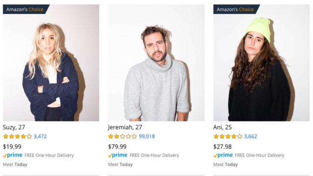 'Amazon Dating,' a Spot-on Parody Site, Offers to Help You Find Love in Your Prime