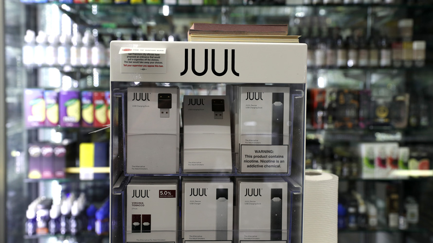 MA  sues Juul over e-cigarette marketing tactics
