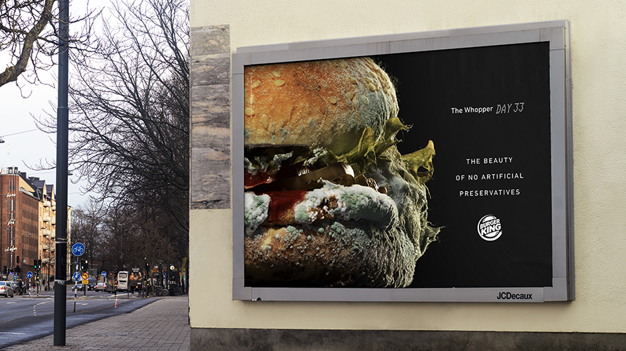 Burger King's moldy Whopper video is both disgusting and reassuring