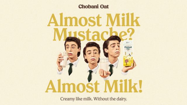 Chobani Promotes Its New Oat Milk by Paying Tribute to the Real Thing