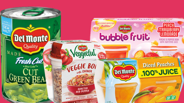 Del Monte products