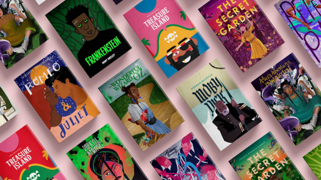 covers of classic books with people of color as the main characters
