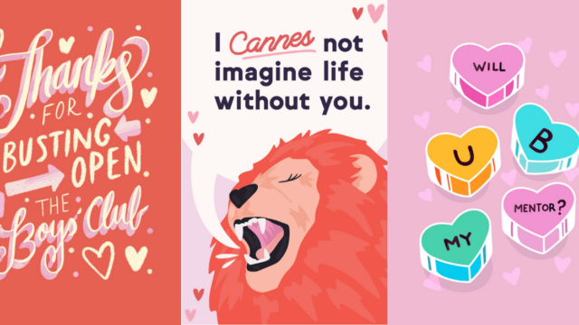 With Galentine's Day Cards, These Agency Creatives Celebrate How Women Show Up for Each Other