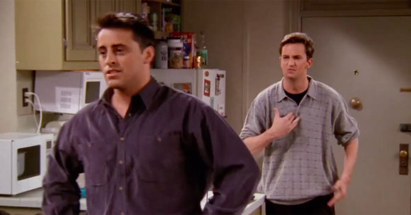 Why a Nonprofit's Edit of Friends Shows Chandler Getting HIV