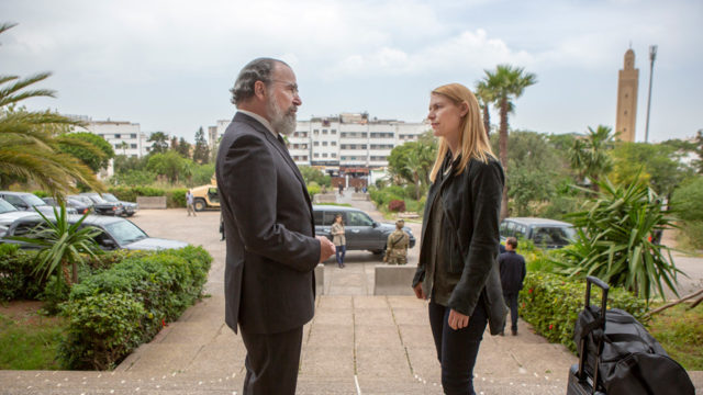 Mandy Patinkin and Claire Danes in Homeland