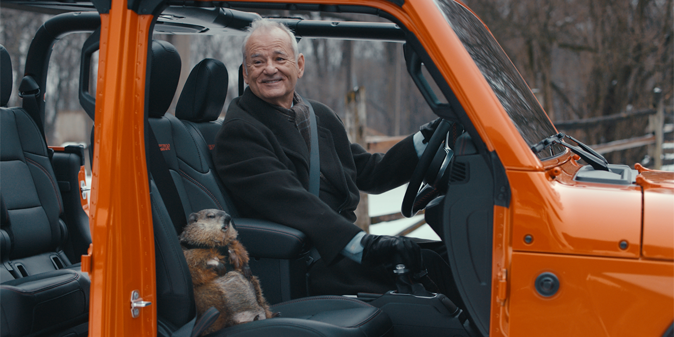 Image result for jeep bill murray super bowl commercial