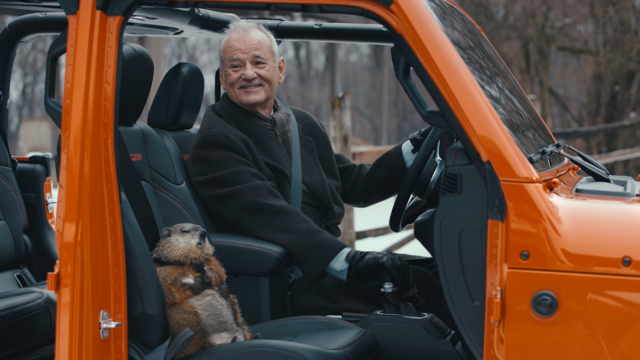 Bill Murray's First-Ever National Ad Is Groundhog Day Super Bowl Genius for Jeep