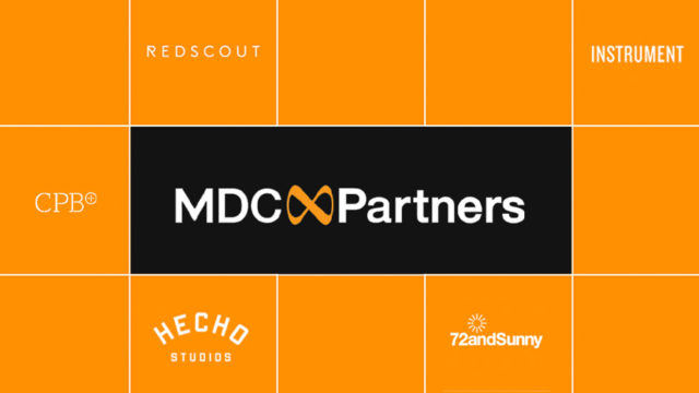 MDC Partners Forms Collective Comprised of 72andSunny, CPB, Hecho Studios, Instrument and Redscout