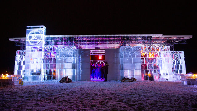 Mercedes-Benz Canada Used 88,000 Pounds of Ice to Create Ongoing Brand Love