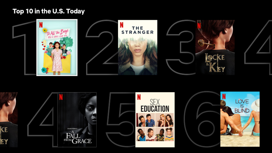 Netflix rolls out Top 10 most popular titles in Singapore