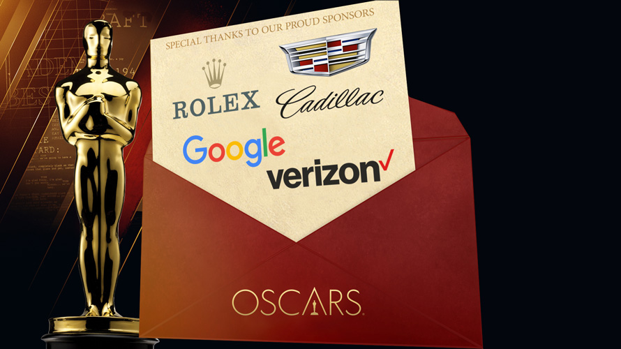 an academy award envelope