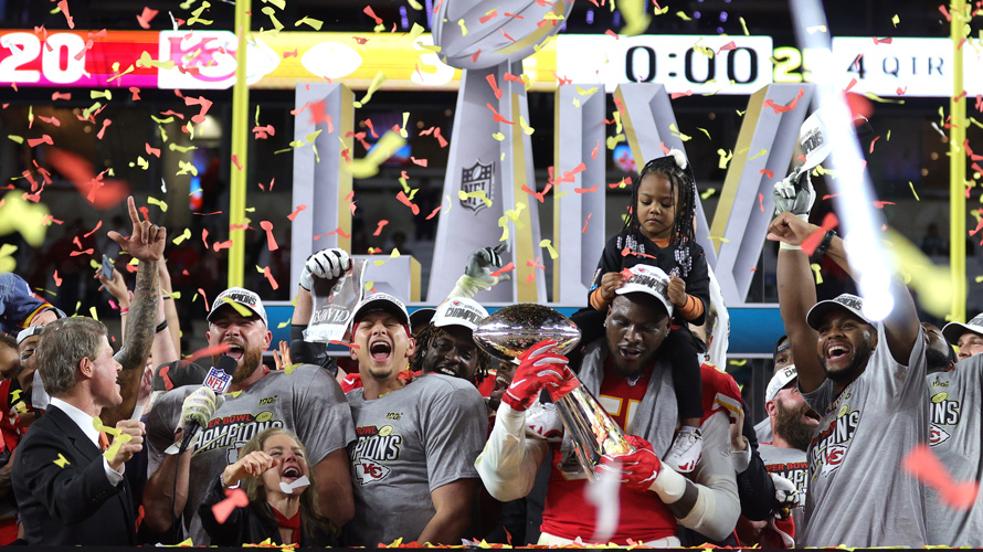 102 million people watched the Kansas City Chiefs beat the San Francisco 49ers during Super Bowl 54.